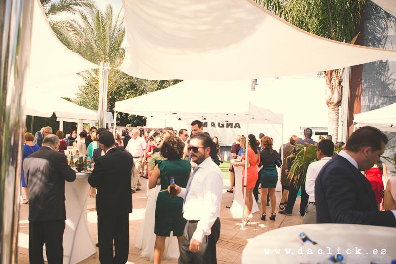 cocktail boda Magna Garden