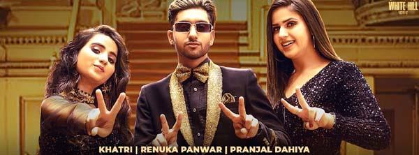LAALI THAMJA Lyrics - Khatri   Renuka   Pranjal   New Haryanvi Song 2021