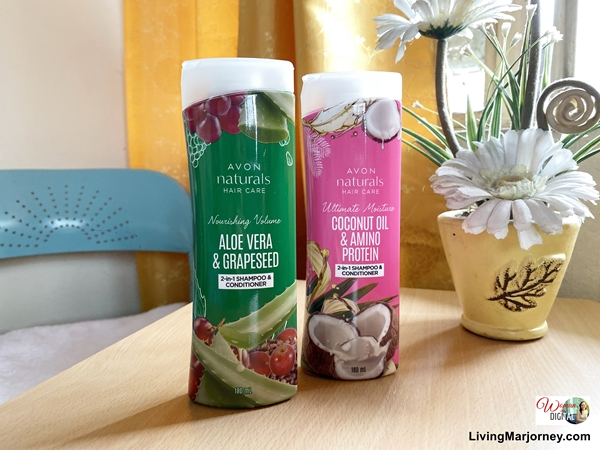 Avon Naturals Shampoo Conditioner