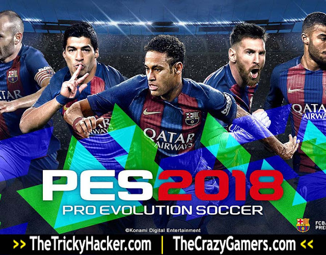 PES 2018 Free Download For PC Full Version