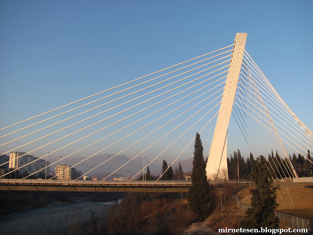 Мост Миллениум - Подгорица, Черногория
