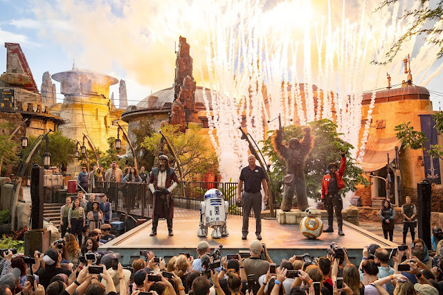 Grand opening of Star Wars: Galaxy's Edge
