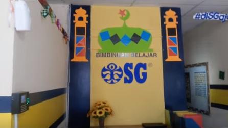Dekorasi Ramadhan di Kantor Bimbingan Belajar