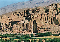 Missing Buddha of Yuezhi, Bamiyan valley, Afghanistan