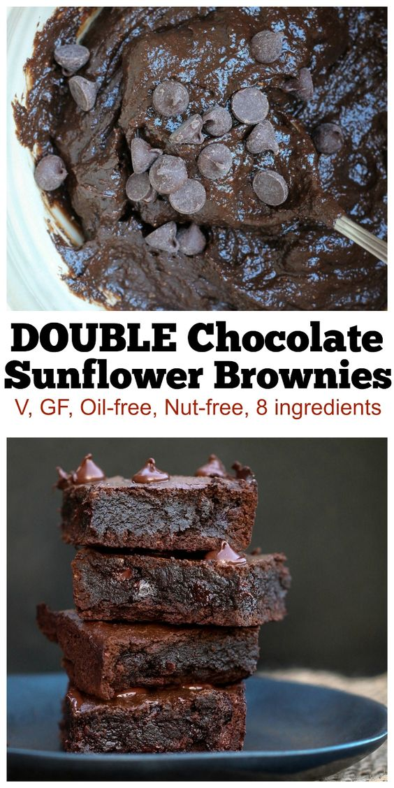 These Double Chocolate Fudgy Vegan Brownies are seriously some of the best brownies I have ever had. They embody everything a brownie should have, which is dense, fudgy, chewy and very chocolatey…