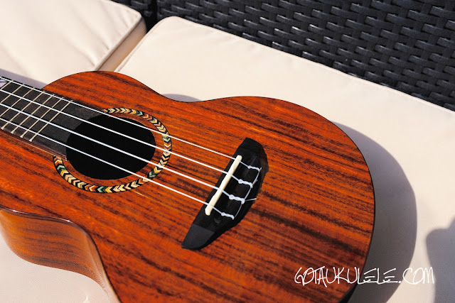 Mr Mai M-M80 Concert Ukulele body