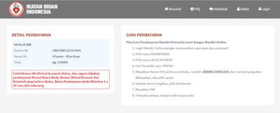 Login ke halaman Ukom dan Masukkan email dan password, lalu klik Log In, Setelah Log In, Lakukan Pembayaran