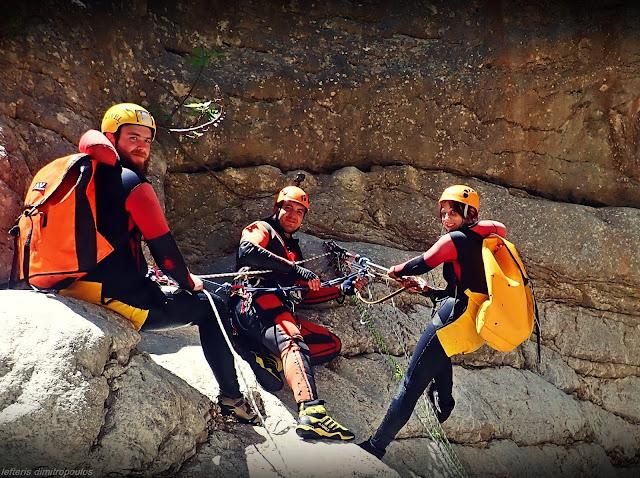 Κατάβαση στο φαράγγι του Ίναχου από τον Ε.Ο.Σ. Τρίπολης