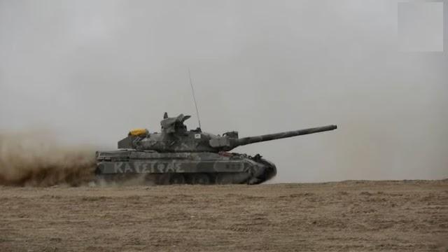 Στρατιωτικό άρμα με το όνομα Κατσίφας συμμετείχε στην στρατιωτική Κυπριακή άσκηση «ΙΡΙΣ 2021» της ΕΦ (ΒΙΝΤΕΟ)