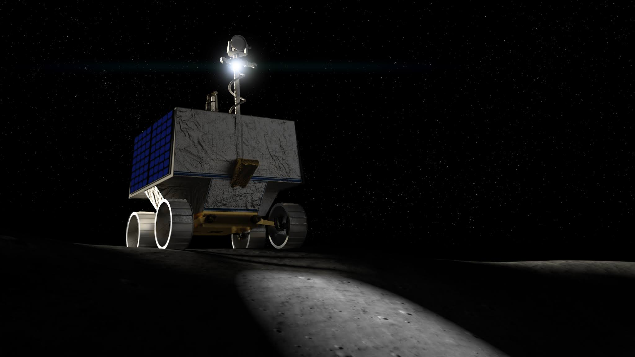 NASA Rover 'VIPER' to Search for Ice, Evaluate Environment on Moon in 2023