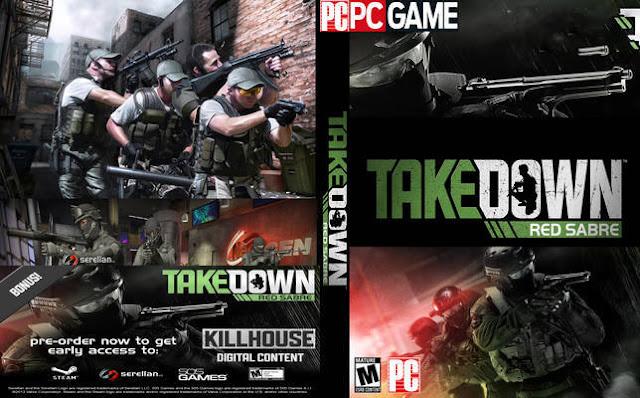 تحميل لعبة takedown red sabre برابط واحد مباشر