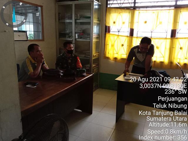 Jumat Bersih Dilakukan Personel Jajaran Kodim 0208/Asahan Bersama Dengan Masyarakat Binaan
