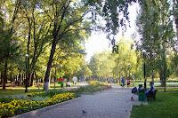 в нашем парке осень...