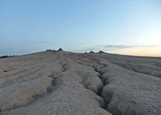 Pustki na wulkanach błotnych