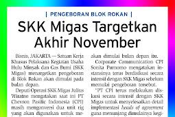 SKK Migas targets the end of November