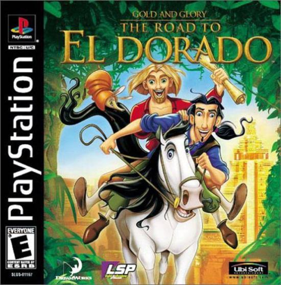 Disneys The Road to El Dorado - Gold & Glory - PS1 - ISOs Download