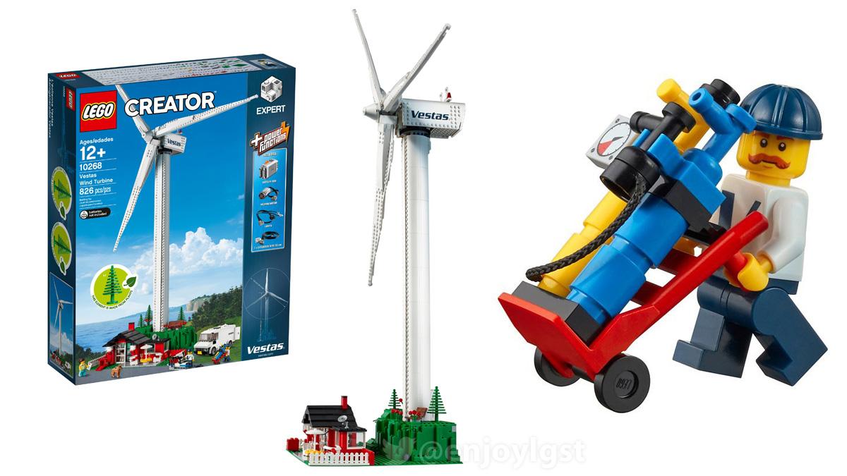 レゴ 10268 ベスタスの風力発電機:クリエイター・エキスパート(2018)