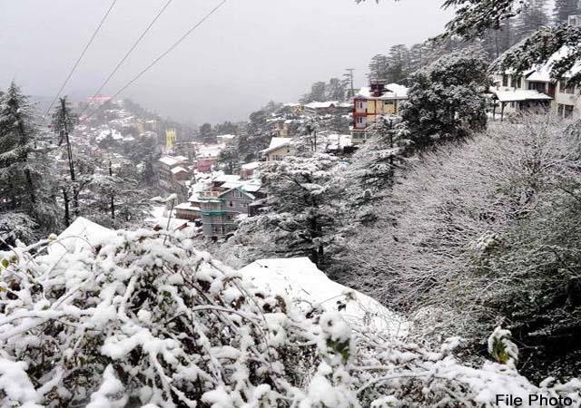 हिमाचल में भारी बारिश-बर्फबारी की चेतावनी, यैलो व ऑरैंज अलर्ट जारी
