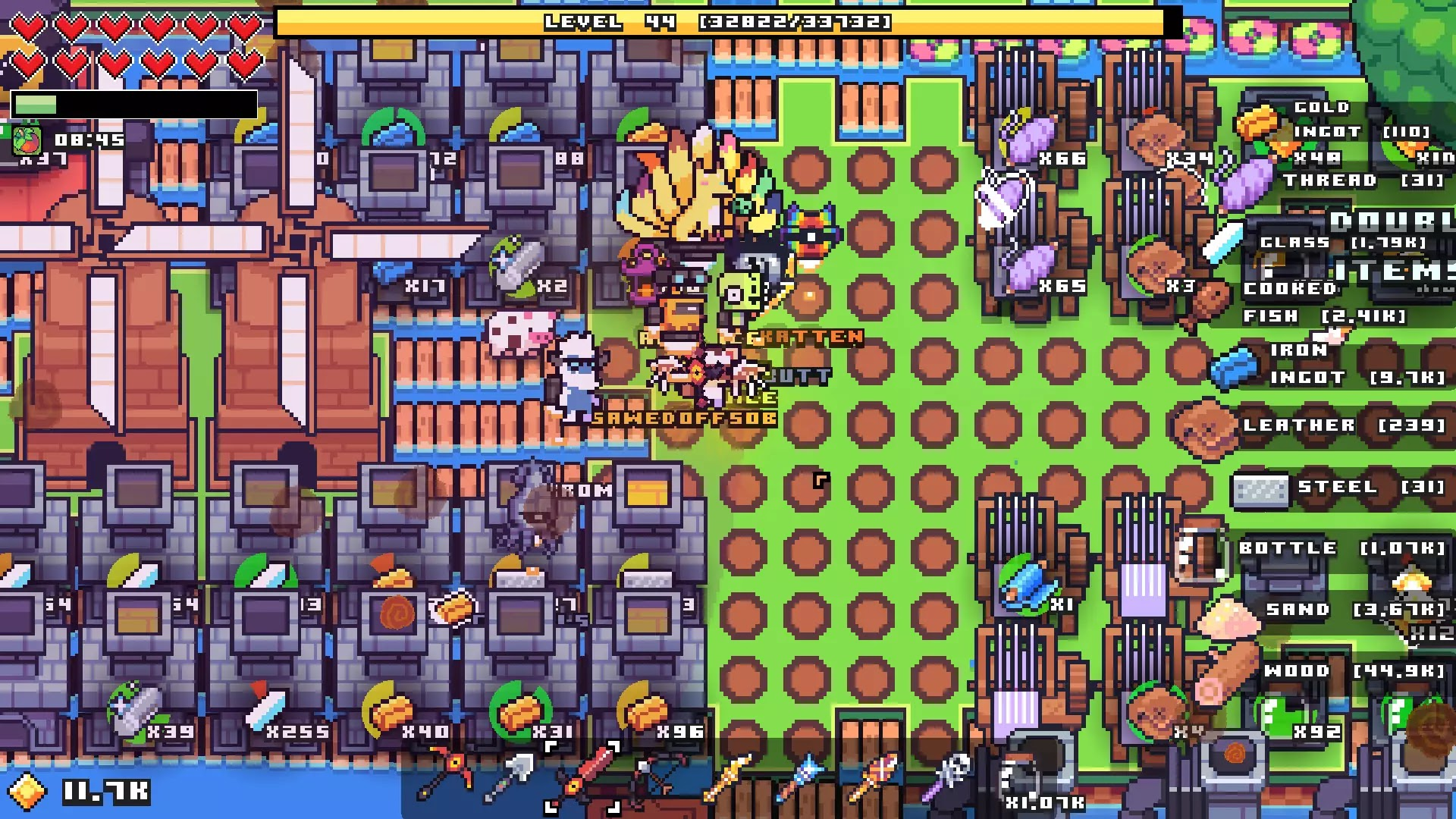 Forager game screenshots