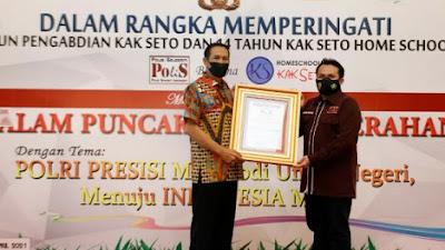 Polisi Selelebriti Gelar Kak Seto Award 2021