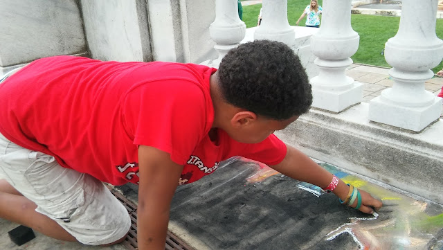 Cleveland Art Museum's Annual ChalkFest 2016