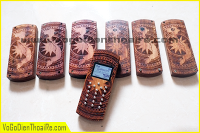 Vỏ gỗ điện thoại giá rẻ -  Trống Đồng