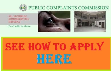 2018/2019 PCC Page - Public Complaints Commission Recruitment Portal
