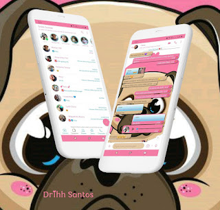 Dog Cute Theme For YOWhatsApp & Fouad WhatsApp By Driih Santos