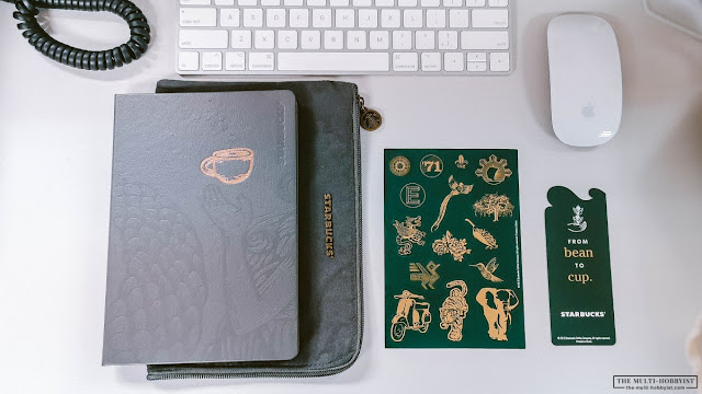 Starbucks 2020 Planner (Philippines) in Frost Gray Review