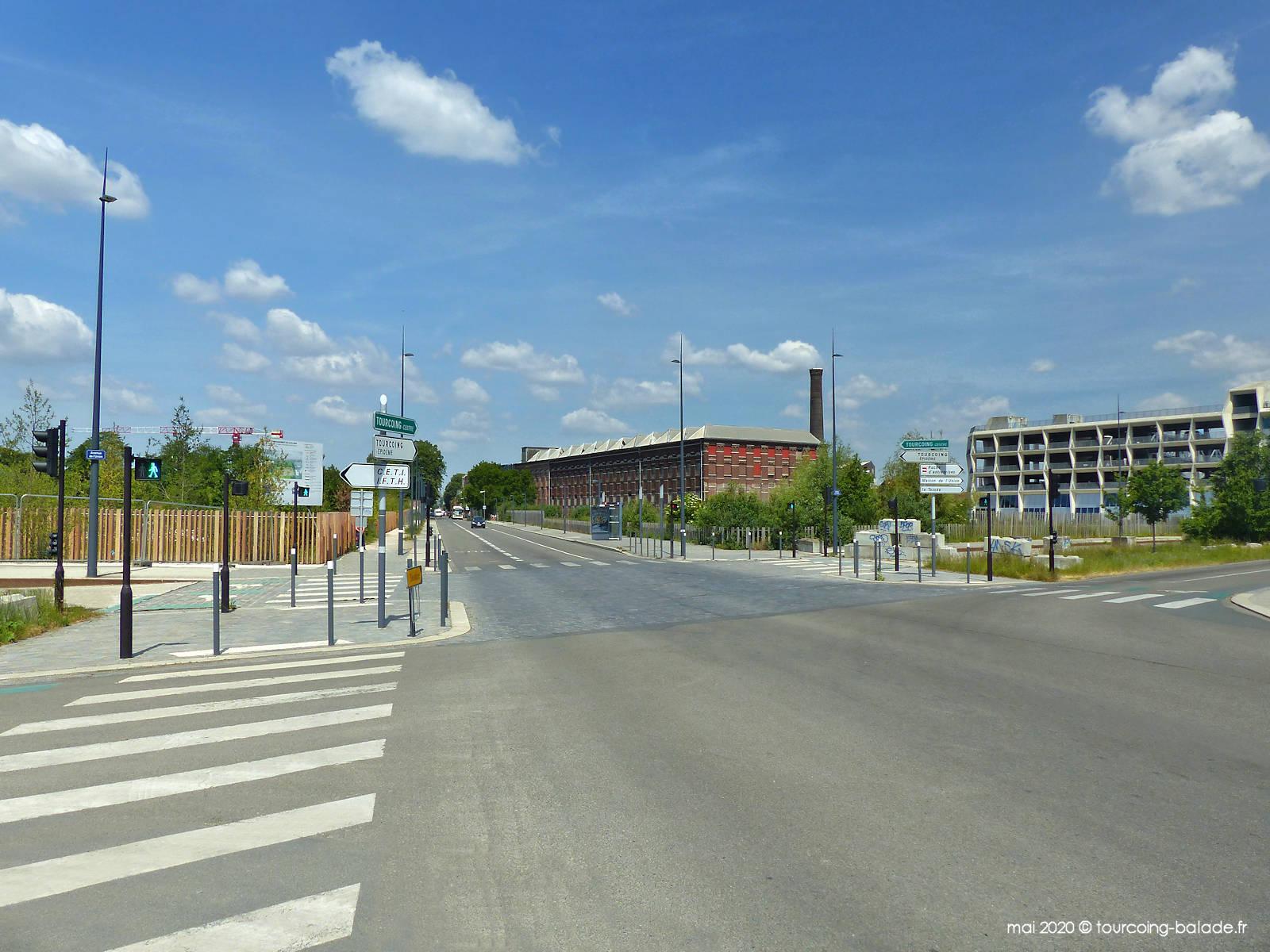 Rue des Retrouvailles, Tourcoing 2020