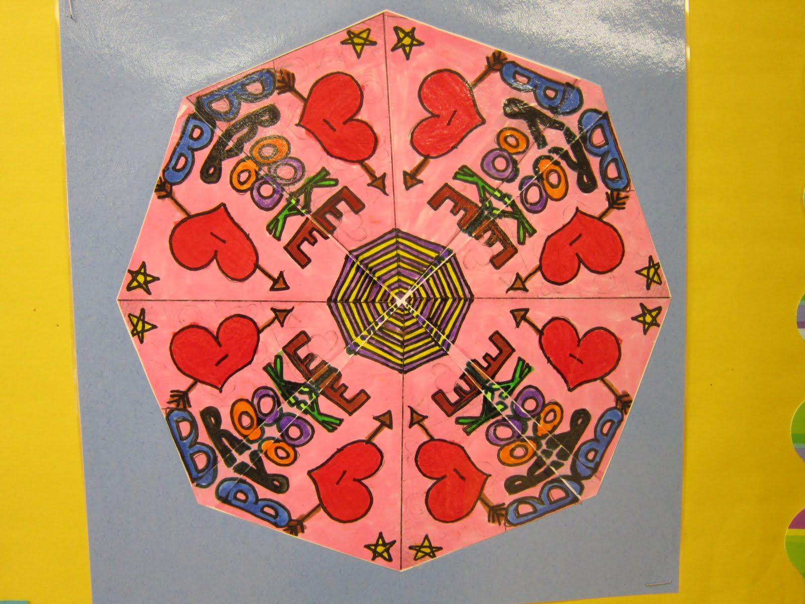 Color Craft Create 5th Grade Rotational Symmetry