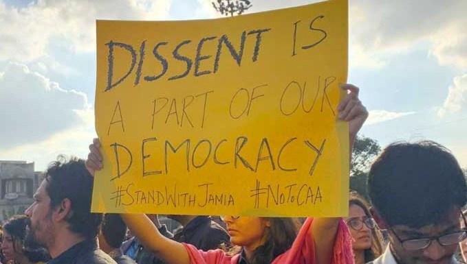 Bantahan undang-undang kewarganegaraan India merebak di seluruh kampus
