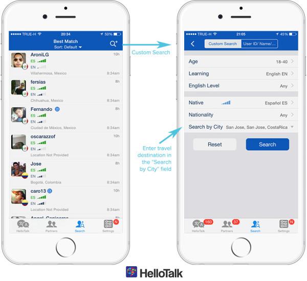 berna şenel's ELT blog: HelloTalk Language Exchange Learning App
