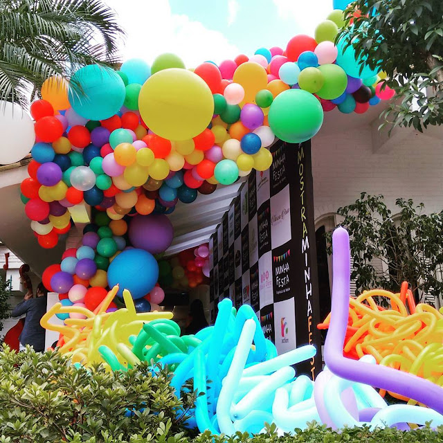 entrada de balões