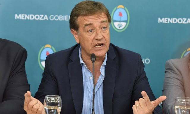 El gobernador de Mendoza refutó las explicaciones del presidente Fernández