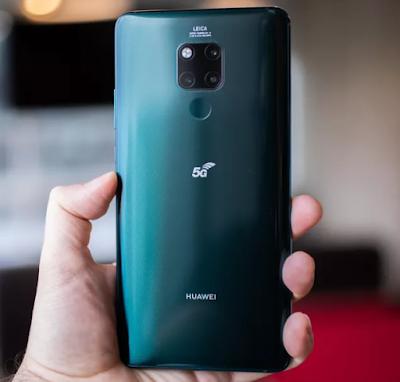 مواصفات وأسعار هاتف هواوي Mate 20 X (5G) الداعم لتقنية الجيل الخامس في السعودية