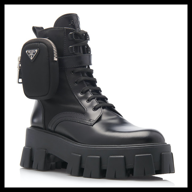 Prada Pouch Boots