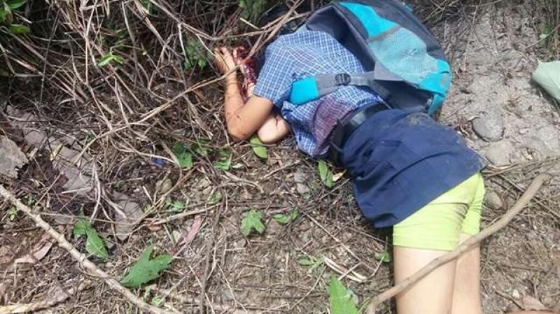 Kondisi mayat Sandra Yolanda Duha saat ditemukan