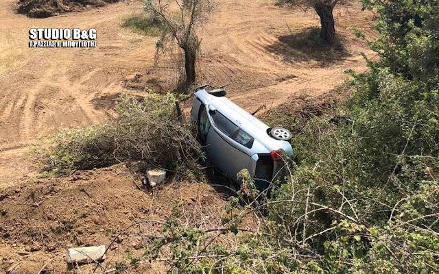 Τροχαίο ατύχημα με τραυματία στην Ερμιονίδα Αργολίδας