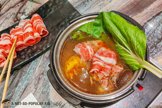 Beef Karubi Set of Tong Yang Shabu-Shabu Express