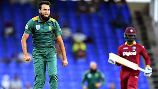 Hashim Amla 110 - Imran Tahir 7-45 - West Indies vs South Africa 6th Match Tri-Nation Series 2016 Highlights