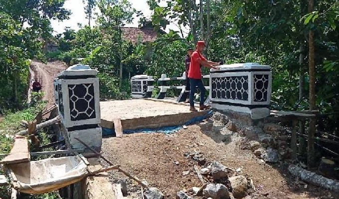 Warga Geram, Pembangunan di Desa Tanjung Agung Terkesan Misterius, Kades dan Perangkat Saling Lempar