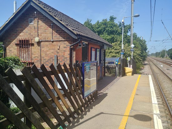 Welham Green station - image by North Mymms News via Creative Commons