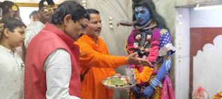 महाशिवरात्रि के मौके पर भगवान शिव की धूमधाम से निकली बारात