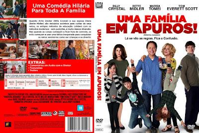 Filme Uma Família em Apuros (Parental Guidance) DVD Capa