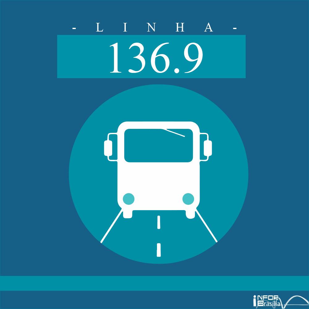 Horário de ônibus e itinerário 136.9 -