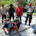 Polsek Sumay Amankan Tiga Pelaku PETI di  Desa Teluk Singkawang