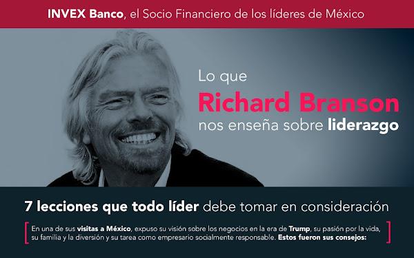 Lecciones de liderazgo de Richard Branson