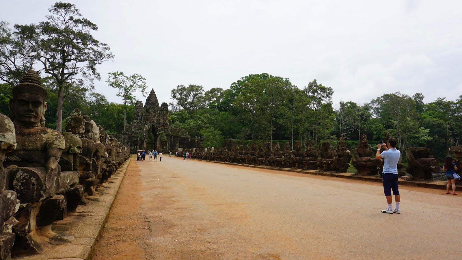 Angkor Thom's southern gate