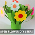 Paper Flower Diy Steps